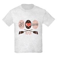 Peace Love Row Crew T-Shirt