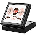 Peace Love Row Crew Keepsake Box