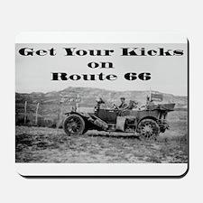 Get Your Kicks 66 Mousepad