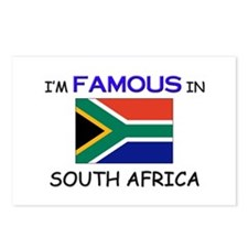 I'd Famous In SOUTH AFRICA Postcards (Package of 8