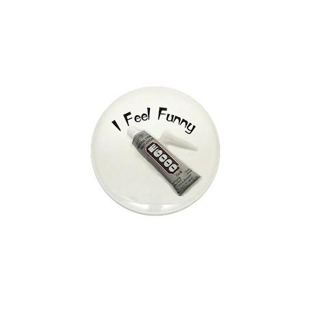 I Feel Funny Mini Button (10 pack)