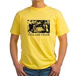 Old Las Vegas Nevada Yellow T-Shirt