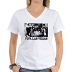 Old Las Vegas Nevada Women's V-Neck T-Shirt