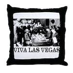 Old Las Vegas Nevada Throw Pillow