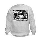 Old Las Vegas Nevada Kids Sweatshirt