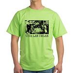 Old Las Vegas Nevada Green T-Shirt