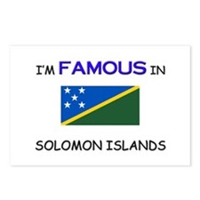 I'd Famous In SOLOMON ISLANDS Postcards (Package o