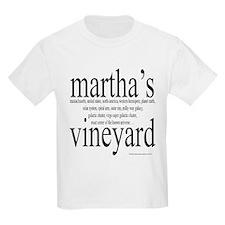 367.martha's vineyard Kids T-Shirt
