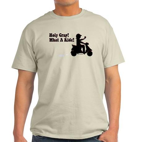 Holy Crap It's a Scooter Light T-Shirt