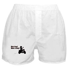 Holy Crap It's a Scooter Boxer Shorts