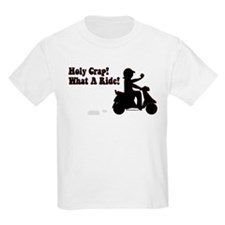 Holy Crap It's a Scooter T-Shirt
