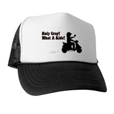 Holy Crap It's a Scooter Trucker Hat