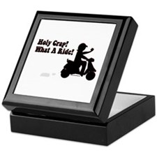 Holy Crap It's a Scooter Keepsake Box