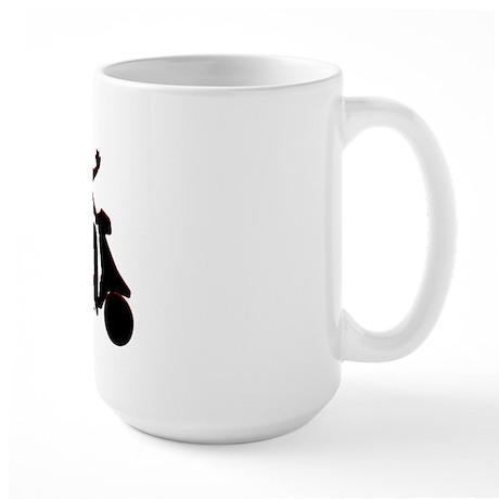 Holy Crap It's a Scooter Large Mug