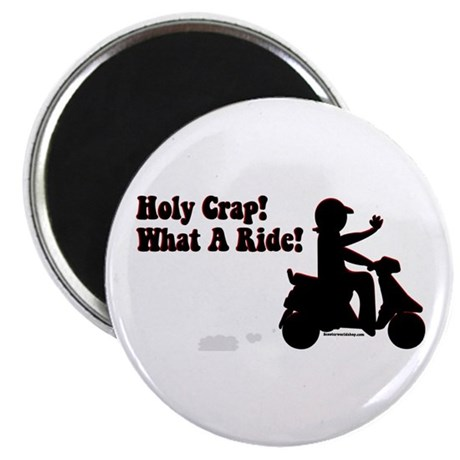 Holy Crap It's a Scooter Magnet