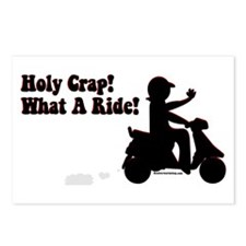 Holy Crap It's a Scooter Postcards (Package of 8)