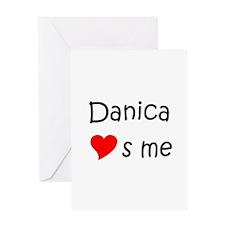 Danica Greeting Card