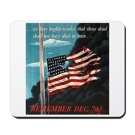 Pearl Harbor Day Mousepad