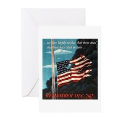 Pearl Harbor Day Greeting Cards (Pk of 10)