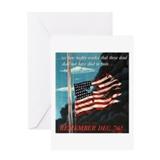 Pearl Harbor Day Greeting Card