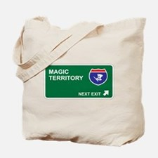 Magic Territory Tote Bag
