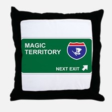 Magic Territory Throw Pillow