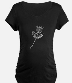 Chrome Stemmed Rose T-Shirt