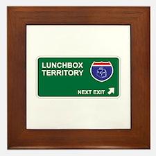 Lunchbox Territory Framed Tile