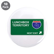 "Lunchbox Territory 3.5"" Button (10 pack)"