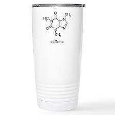 Caffeine Molecule Travel Coffee Mug