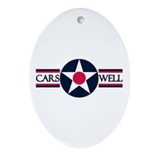Carswell Air Force Base Oval Ornament