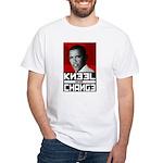 Obama Kneel Before Change White T-Shirt