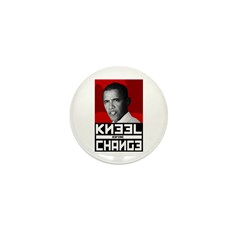Obama Kneel Before Change Mini Button (100 pack)