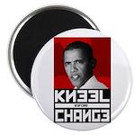 Obama Kneel Before Change Magnet