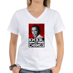 Obama Kneel Before Change Shirt
