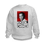 Obama Kneel Before Change Kids Sweatshirt