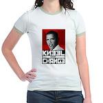 Obama Kneel Before Change Jr. Ringer T-Shirt