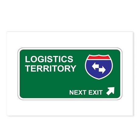Logistics Territory Postcards (Package of 8)