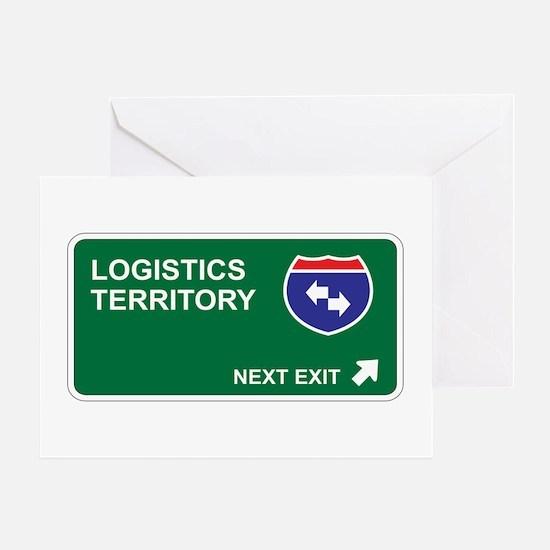 Logistics Territory Greeting Card
