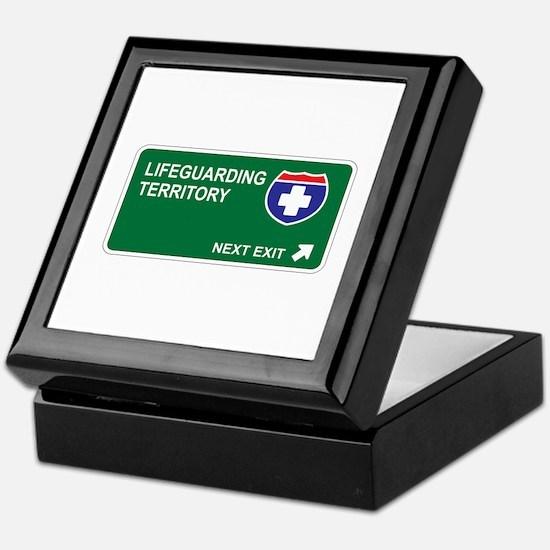 Lifeguarding Territory Keepsake Box
