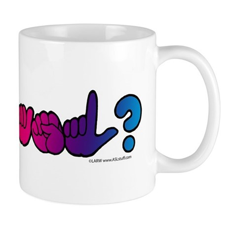 Got ASL? Rainbow Mug