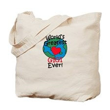 World's Greatest Gigi T-Shirt Tote Bag