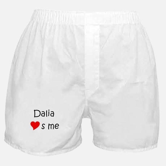 Funny Dalia Boxer Shorts