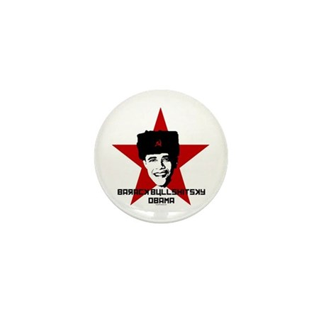 Barack Bullshitsky Obama Mini Button (10 pack)