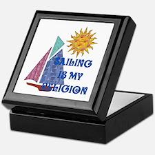 Sailing Religion Keepsake Box