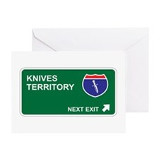 Knives Territory Greeting Card