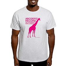 abcdefg*record T-Shirt