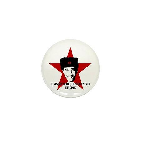 Barack Bullshitsky Obama Mini Button (10 pack)