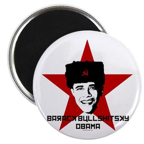 Barack Bullshitsky Obama Magnet