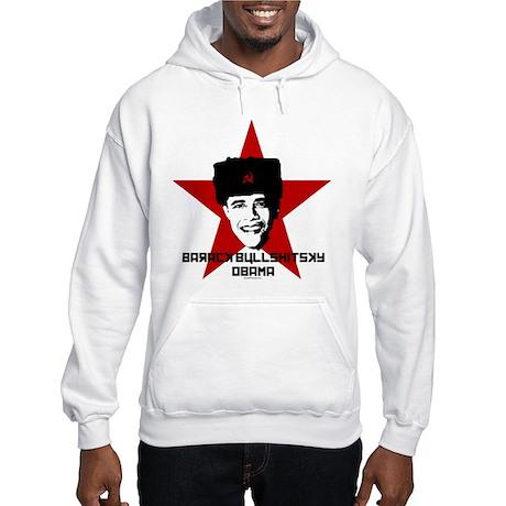Barack Bullshitsky Obama Hooded Sweatshirt